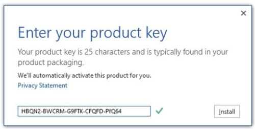 Microsoft Office 2013 Product Key With Full Version