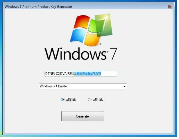 windows 7 professional 32 bit product keygen