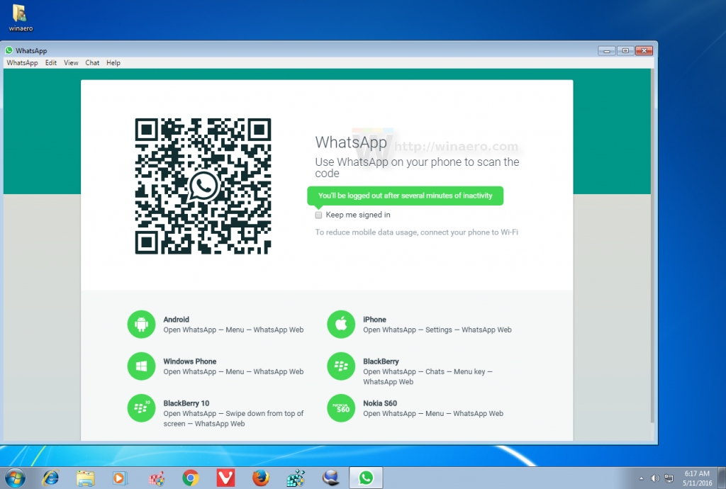 whatsapp web version free download for pc